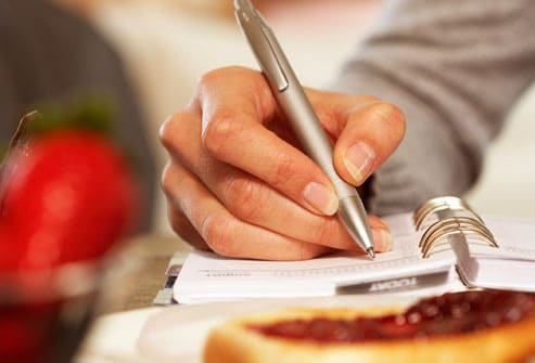 getty_rf_photo_of_woman_writing_in_food_diary