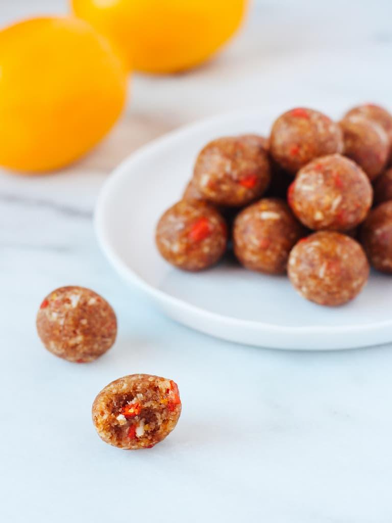 Goji Berry Energy Bites - Raw and Vegan